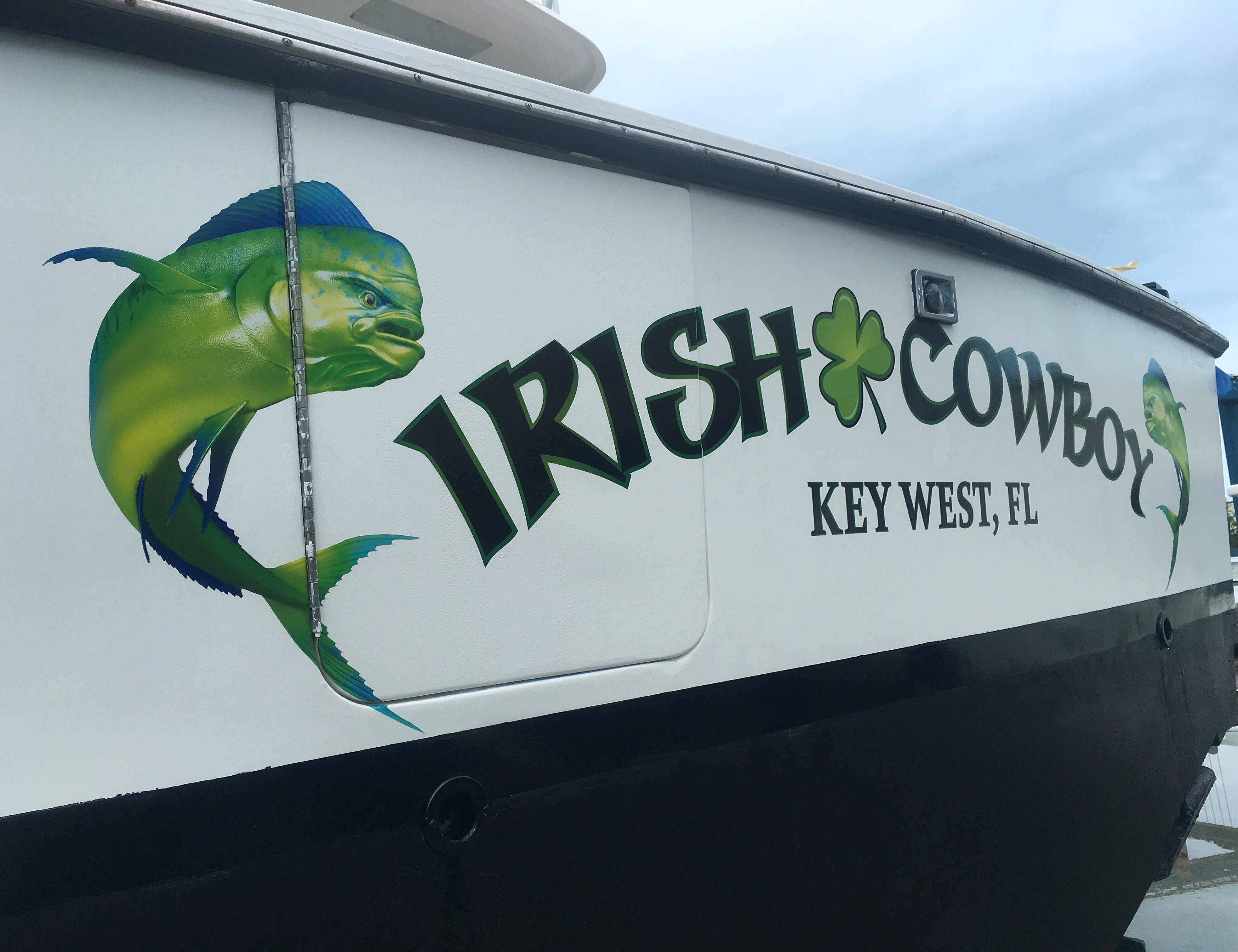 Key West Boat Wraps | Boat Decals | Stern Decals | Custom Graphics